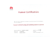 Huawei Certifications Routing and Switching Solutions Specialist